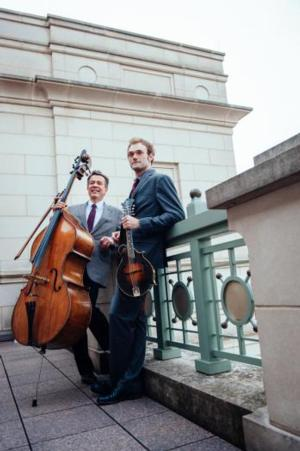 Chris Thile and Edgar Meyer to Cross Music Boundaries 9/27 at Bass Concert Hall