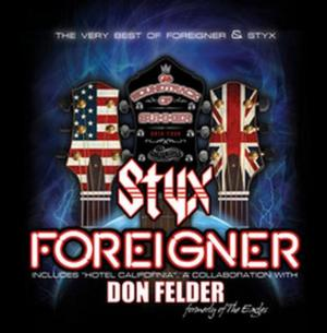 STYX & Foreigner to Release 'The Soundtrack Of Summer' Exclusively at Walmart, 5/6