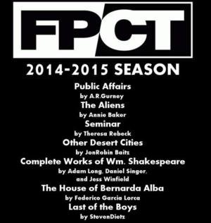 Fells Point Corner Theatre Announces 2014-15 Season Featuring SEMINAR, OTHER DESERT CITIES & More!