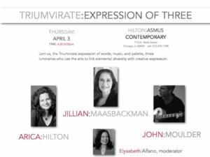 Hilton Asmus Contemporary Presents TRIUMVIRATE: EXPRESSION OF THREE, 4/3