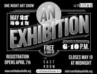 Untitled Artists Group to Present AN EXHIBITION in Nashville, 5/25