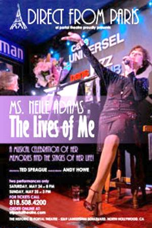 Neile Adams Brings THE LIVES OF ME to El Portal Theatre This Weekend
