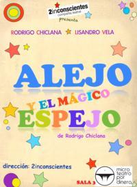 'Alejo y el mágico espejo' regresa a Microteatro