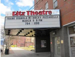 Ritz Theater Begins Work on New Marquee Today