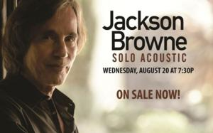 Providence Performing Arts Center Welcomes Jackson Browne in Concert Tonight