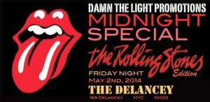 Damn The Light Promotions to Present MIDNIGHT SPECIAL Rolling Stones Tribute, Featuring Aaron LaVigne and Kiara Danielle, 5/2