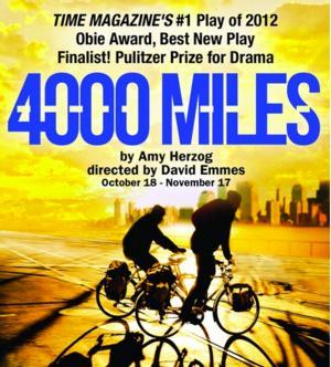 Family Bond Inspires Heartwarming Herzog Play 4000 Miles; October 18-November 17 on the Segerstrom Stage