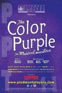 Piedmont Players Theatre Presents THE COLOR PURPLE at the Meroney, Now thru 11/3