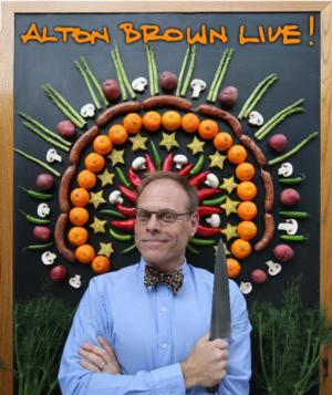 ALTON BROWN LIVE! THE EDIBLE INEVITABLE TOUR Coming to Morrison Center, 2/26/2015