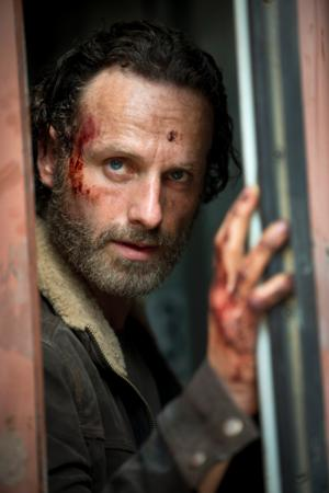 First Look - Rick Grimes in AMC's THE WALKING DEAD Season 5
