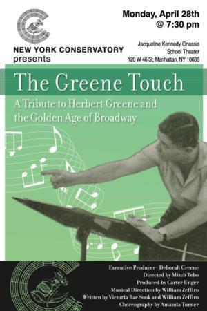 New York Conservatory Pays Tribute to Broadway Journeyman,  Herbert Greene, 4/28