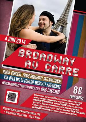 'Paris-Broadway International' Cabaret Featuring Lauren Berkman, Lisandro Nesis and John Florencio to Open on June 4th