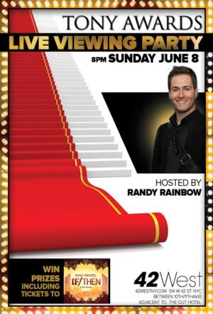 Randy Rainbow to Host Tony Awards Simulcast at 42West on 6/8