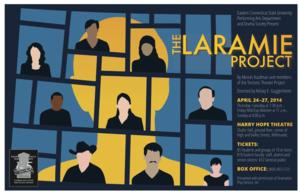 Eastern CT State University Theatre to Present THE LARAMIE PROJECT at Harry Hope Theatre, 4/24-27