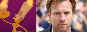 Be His Guest- Ewan McGregor Joins BEAUTY AND THE BEAST Film as Lumiere!