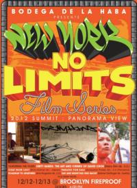 New York No Limits 2012 Summit Set for 12/12-15