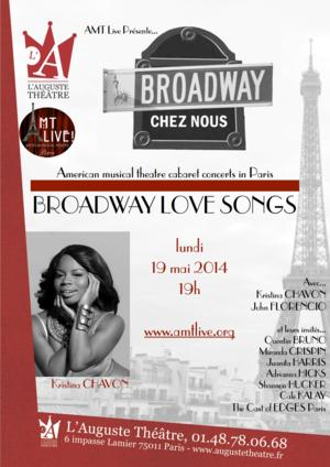 AMT Live to Present BROADWAY CHEZ NOUS: BROADWAY LOVE SONGS IN PARIS, May 19