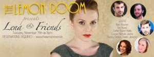 Lena Hill's LENA & FRIENDS Set for The Lemon Room @ ZajacStudio, 11/19