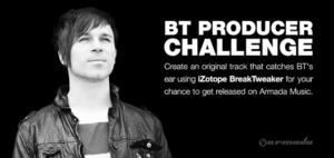 iZotope and Beatport Play Launch BT Producer Challenge; Deadline 5/5