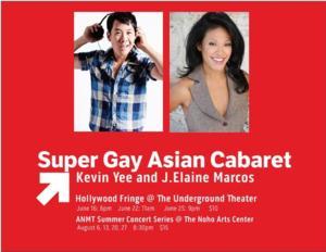 BWW Interviews: Fringe Spotlight: SUPER GAY ASIAN CABARET
