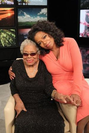 Oprah Winfrey Comments on Passing of Mentor Maya Angelou