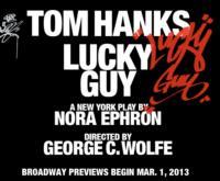 Rehearsals Begin Monday for LUCKY GUY, Starring Tom Hanks