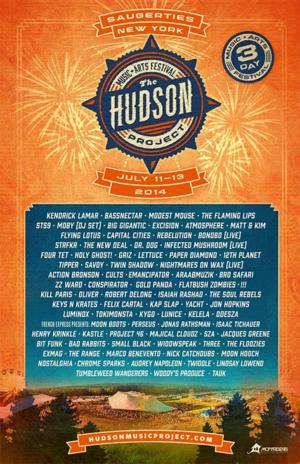 THE HUDSON PROJECT Announces Updated Line-Up