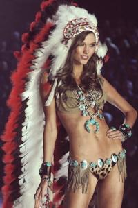 Victoria Secret Apologizes for Offensive Native American Headdress