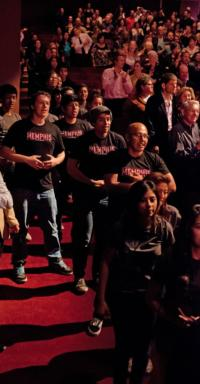 STAGE TUBE: MEMPHIS Flash Mob at Segerstrom Center for the Arts