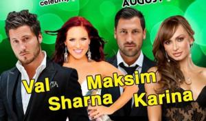 Maks Chmerkovskiy, DWTS Pros, IDOL Finalists & More Set for BALLROOM WITH A TWIST