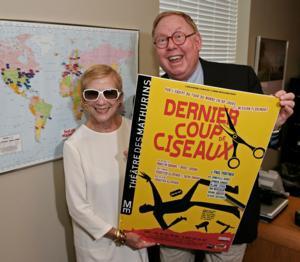 Le Dernier Coup de Ciseaux's SHEAR MADNESS Wins 2014 Molière de la Comédie Award