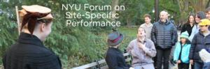 HALL PASS, Washington Square Park Shows & More Set for NYU's 'Site-Specific' Forum This Weekend