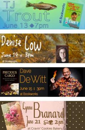 This Week at Bookworks Includes T.J. Trout, Denise Low and More