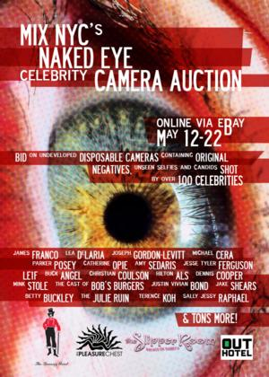 James Franco, Le DeLaria, Patina Miller and More Donate Personal Photos to MIX NYC's '#NakedEye Camera Benefit'; Auctions Close Today