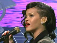 Rihanna Dazzled in Jacob & Co. on SNL