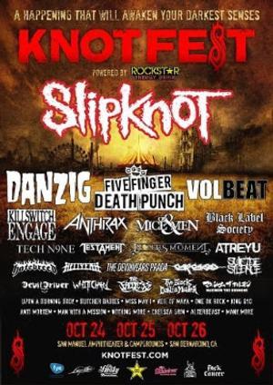 Slipknot's Legendary KNOTFEST Returns to U.S. This October