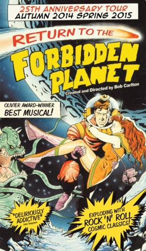 RETURN TO THE FORBIDDEN PLANET to Launch 25th Anniversary UK Tour, Nov 6