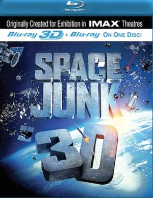 SPACE JUNK 3D Coming to Blu-ray 9/17