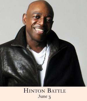 Hinton Battle to Play 54 Below Tomorrow