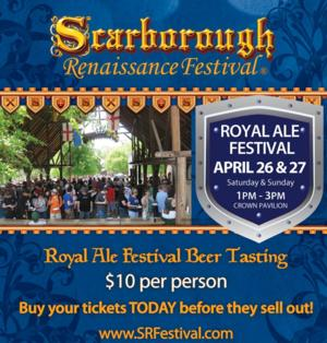 The Royal Ale Festival Highlights 2014 Scarborough Renaissance Festival This Weekend