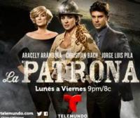 Telemundo's LA PATRONA Delivers Highest Performance Since Premiere