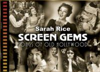 Sarah Rice Brings SCREEN GEMS to NY Sheet Music Society, 12/8