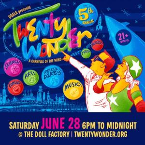 5th Annual TWENTYWONDER Set for Saturday 6/28