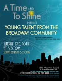 Ethan Haberfield and More Set for A TIME TO SHINE Kidz/Teen Cabaret at Broadway Comedy Club Tonight