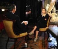 Scarlett Johansson Visits CBS SUNDAY MORNING Today