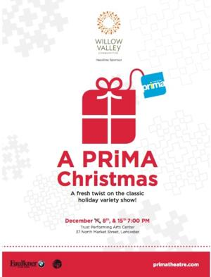 A PRiMA CHRISTMAS to Play Trust Performing Arts Center, 12/8 & 15