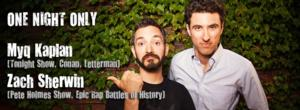 DSI Comedy Theater to Welcome Myq Kaplan and Zach Sherwin, 8/14