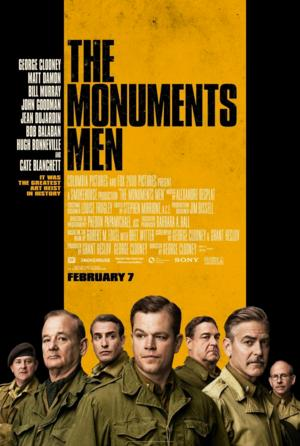 THE MONUMENTS MEN Tops DVD & Blu-ray Sales, Rentals, Week Ending 5/25