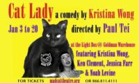 Kristina Wong's CAT LADY Opens Mad Cat Theatre's 13th Season, 1/3