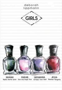 Get Excited!  'Girls' Nail Polish Line Coming in January